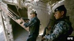 Soldados iraquíes.