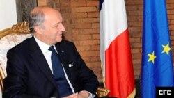 El ministro francés de Relaciones Exteriores, Laurent Fabius. EFE/MARIO DE RENZIS