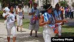 Damas de Blanco en Cuba.