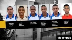 Los seis voleibolistas cubanos acusados originalmente de violación en Finlandia (mtv.fi)