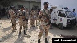 Policías paquistaníes. Archivo.
