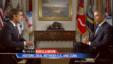 Obama habla sobre el cambio de política hacia Cuba con David Muir de ABC.