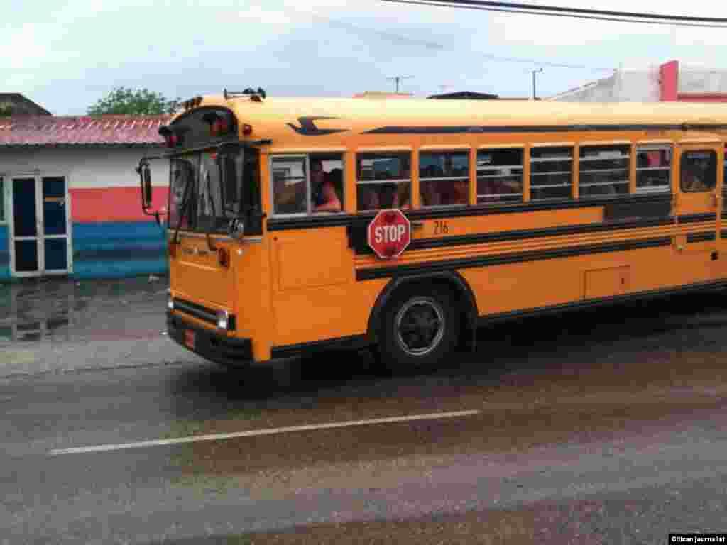 Reporta Cuba transporte