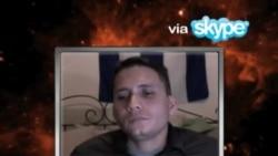Entrevista de Rolando Cartaya a Eliecer Avila desde Suecia