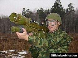 Misil antiaéreo portátil Igla-S. Rusia vendió a Venezuela 5.000 similares a éste.