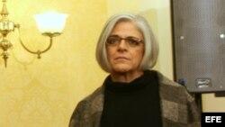 Judy Gross, esposa del contratista estadounidense encarcelado en Cuba, Alan Gross.