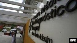 """El galeno se suicidó en el consultorio de un Centro de Diagnóstico Integral del programa sanitario """"Barrio Adentro"""", como este de Caracas."""