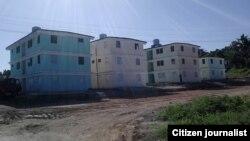 Edificios en Guanabacoa foto Yudit Muñiz.
