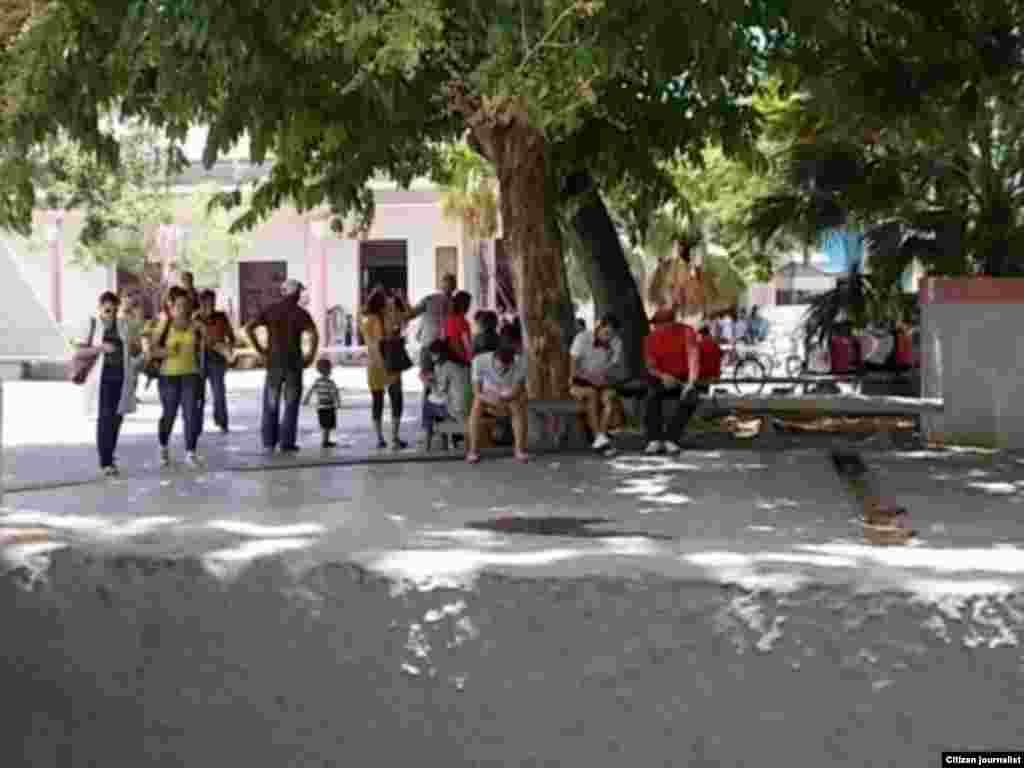 Reporta Cuba Parque Roberto Amarán Pinar del Río Foto José Estrada