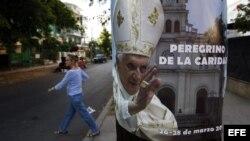 La Habana a la espera de Benedicto XVI