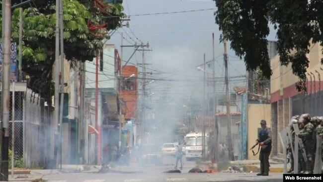 Violencia se desata este viernes en las calles de Barquisimeto