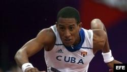 El cubano Orlando Ortega.