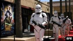 Fotografía de archivo. 'Star Wars: The Clone Wars'. El largometraje es la primera producción animada de Lucasfilm Animation.