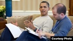 Obama y Ben Rhodes, asesor de seguridad nacional y negociador con Cuba
