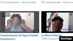 Reporta Cuba. Palenque Visión ha publicado decenas de audiovisuales en su canal de YouTube.