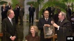 Primera visita de los reyes de España a Cuba