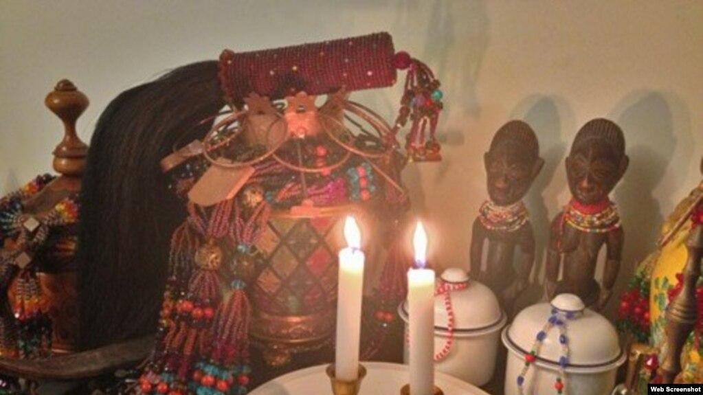 Altar de santería