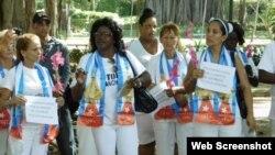 Las Damas de Blanco envían mensaje de esperanza al pueblo cubano