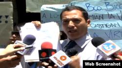 Abogado y dirigente de Voluntad Popular explica las razones por las que defenderá a trabajadores del Banco Bicentenario