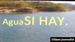 Reporta Cuba. Agua sí hay. Foto: Jorge Cervantes.