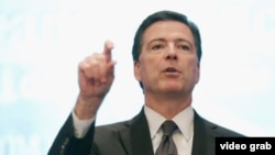James Corney, director de la Oficina Federal de Investigaciones, FBI.