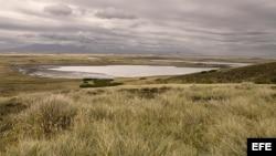 Paisaje de Las Malvinas.