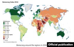 Indice democracia 2016