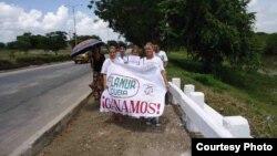 Activistas de FLAMUR en Holguín