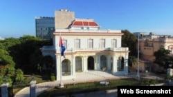 Ministerio de Relaciones Exteriores de Cuba, La Habana.