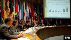 Reunión de CEPAL. Archivo