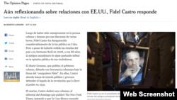 Un editorial firmado por Ernesto Londoño.