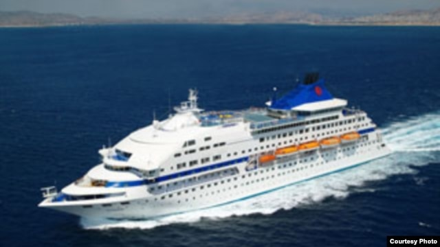 El barco crucero Louis Cristal