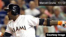 Marcell Ozuna: Trabajar fuerte y seguir luchando