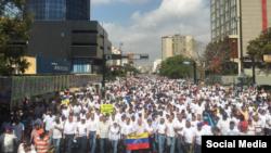 #Marchadelsilencio en Venezuela.