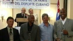 Distinguidas figuras del deporte cubano reciben relevante reconocimiento en EEUU