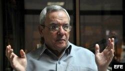 El historiador de La Habana Eusebio Leal.