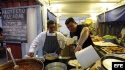 Cocineros cubanos. Archivo
