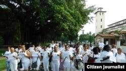Reporta Cuba. Marchas por Derechos y Libertad.