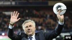 El italiano Carlo Ancelotti es el nuevo técnico del Real Madrid.
