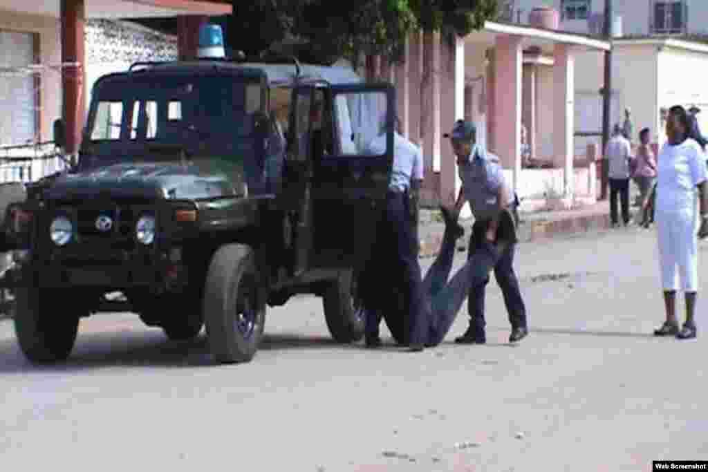 Arresto de Iván Hernández en Colón, domingo 15.
