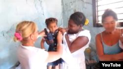 """Reporta Cuba proyecto """"Extendiendo nuestras manos""""."""