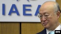 El director general del Organismo Internacional de Energía Atómica (OIEA), Yukiya Amano.