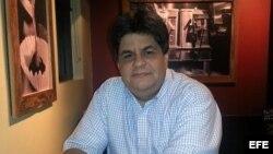 El periodista y escritor nicaragüense Eduardo Enríquez.