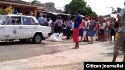 Reporta Cuba. Operativo contra cuentapropistas en Santiago de Cuba. Foto: Luis Lázaro Guanche. Archivo.