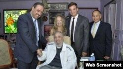 El presidente de la Asociación de Comités Olímpicos Nacionales visitó a Fidel Castro