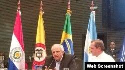 El secretario general de Unasur, agradece a Ecuador nueva sede del organismo.