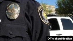 Detalle del uniforme que viste la policía de Iowa. Tomado de https://police.uiowa.edu/