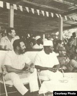 Fidel Castro en Guinea
