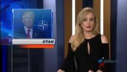 Trump reclama cumplir compromisos militares a aliados de la OTAN
