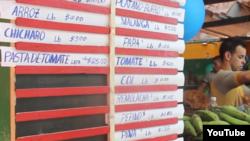 En enero el gobierno topó los precios de los productos agrícolas alegando quejas de la población.